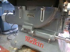 Wadkin A L Dalton Ltd - PK | VintageMachinery.org Antique Tools, Old Tools, Vintage Tools, Woodworking Machinery, Woodworking Tools, Wood Working, Diy And Crafts, Workshop, Shops