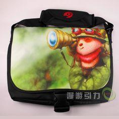 League of Legends LOL Teemo Crossbody Bag Schoolbag Laptop - See more at: http://www.lol2011.com/en/crossbody-bag/league-of-legends-lol-teemo-crossbody-bag-schoolbag-laptop.html