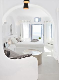 Love the curved wall and the built in bed. Follow me at www.makingdreams.me