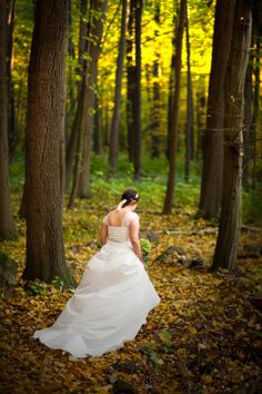 wedding photography: forest