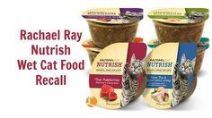 ** ALERT - CAT FOOD RECALL - June 5, 2015  ** - Rachael Ray Nutrish Cat Food Recall