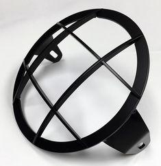 "Iron Cobra's 7"" Triumph headlight guard"