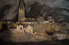 Ignacio Zuloaga (1870-1945) - Segovia, 1910