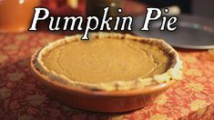 A delicious Pumpkin Pie from Amelia Simmons - American Cookery. Cookbook: Amelia…