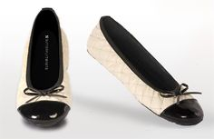 Quilted Olivia Ballerina Shoes