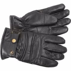 Solid-Leather-Motorcycle-Biker-Riding-Rider-Driving-Winter-Insulated-Gloves-New