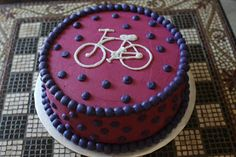 The Buttercream Bakery: Bicycle Cake