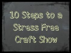 The craft/art show season is about to begin for me and I am in full swing planning, organizing, and creating artwork. It can be a very stressful time for me so whatever I can do to make things easier and run more smoothly I will try. Over the last few seasons I've discovered some things that have helped me have a stress free craft show.  Have the right tent - Many shows.. Read More