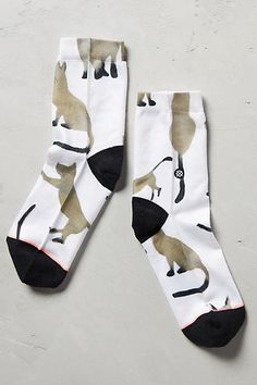 These Kitten Ankle Socks are just too cute! Are there any other cat ladies out…