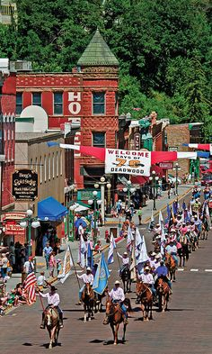 Every summer since 1924, Deadwood's '76 Days have celebrated the Western city's founding with five days of events, including an award-winning rodeo and two parades down historic Main Street.