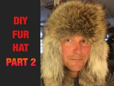 HOW TO MAKE A COYOTE FUR HAT (PART 3) - YouTube