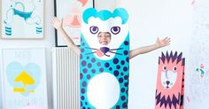 Kids can roar loud and proud in OMY Paper Costumes! $25 hard to find