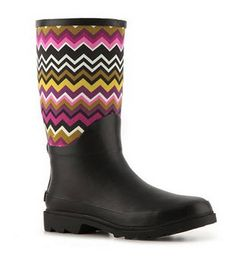 143 Girl Replay Rain Boot...Look Like Missoni But Only $29.64!