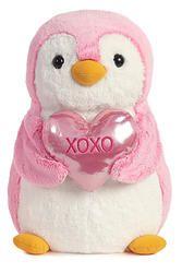 XOXO Plush Penguin