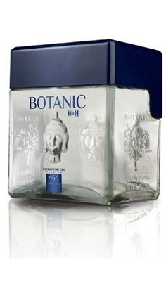 Ginebra Botanic #gin with unusual bottle #packaging PD