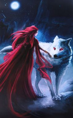 A very interesting turn of events in ASOIAF is the fact that Ghost seems particularly at ease with Melisandre (even to Jon's great surprise). Theories include that (1) Melisandre has Ghost under some kind of spell - which I doubt, (2) Ghost senses her intentions are truly good, or (3) the direwolves are driven by thoughts and actions of their masters.Jon's fascination and (not necessary sexual) attraction towards Melisandre may be what puts Ghost at ease. Could G&M together be key to saving…