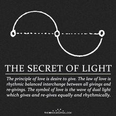The Secret of Light energy art energy auras energy consciousness energy good vibes energy spirit science energy universe Law Of Love, Sacred Geometry Symbols, Sacred Geometry Tattoo, Affirmations, Spirit Science, E Mc2, Love Symbols, Book Of Shadows, Spiritual Awakening
