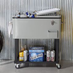 Marvelous Patio Cooler Cart