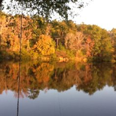 Fall at Lake Placid in Tyler, Texas