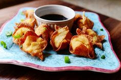 Cream Cheese Wontons - does not have that fake crab.  One of my peeves, why not call them fake crab that is really fish ragoons.
