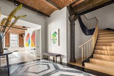 Lafayette Street, Soho, Home Interior Design, Manhattan, Stairs, The Unit, Bed, Building, Architecture