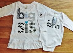 Sister+and+Brother+Matching+Set+Big+Sister+Shirt+Big+by+40WinksbyJ,+$58.96