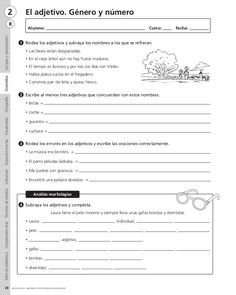 Refuerzo lengua. 4º Primaria Elementary Spanish, Teaching Spanish, Teaching Resources, Spanish Worksheets, Grammar Book, Formative Assessment, Spanish Lessons, School Hacks, Spanish Language