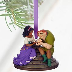 Quasimodo and Esmeralda Sketchbook Ornament - The Hunchback of Notre Dame - Personalizable | Disney Store