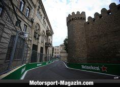 Formel 1 2017, Aserbaidschan GP, Baku, Bild: Sutton