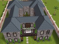 House 11 full view  #sims #simsfreeplay #simshousedesign
