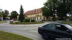 Bad Sarrow, Verkehrskreisel am Bahnhofsplatz #Bad #Sarrow #Brandenburg…