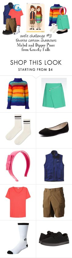 """""""Challenge #3"""" by iheartharry66 ❤ liked on Polyvore featuring MABEL, Kansai Yamamoto, Topshop, Verali, Miu Miu, Patagonia, Orlebar Brown, Urban Pipeline, NIKE and Etnies"""