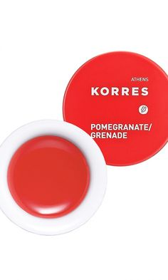 Korres pomegranate lip butter #beauty #products #makeup #cosmetics