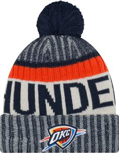 a0aacede544 New Era Youth Oklahoma City Thunder Knit Hat