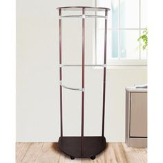 Stylishly Stored Semi Circular Garment Rack, Oil Rubbed Bronze  (I want this to hang my purses on...)