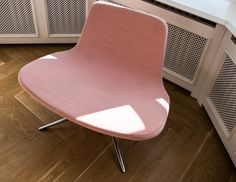 Beautiful warm pink chair spotted in Hay House in Copenhagen