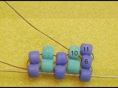 Easy, short tutorial: making the turn with Odd-Count Peyote from Beading Daily editor Leslie Rogalski
