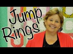 The Jump Ring Quilt: Easy Quilting with Jelly Rolls - YouTube