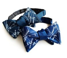 Milky Way Galaxy bow tie! Our constellation tie is a perfect way to let your special starry-eyed someone know that he or she is your Galactic Center.