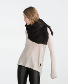 BASIC EXTRA SOFT SCARF - Scarves - Accessories - WOMAN   ZARA United States