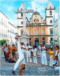 Salvador, Bahia, Brazil - This is where the martial art Capoeira was born. I was only here for short time, and definitely need to come back. There is priceless beach and culture here.