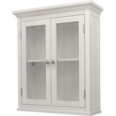 classique white wall cabinet with two doors shopping great deals on
