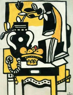 Fernand Leger - The Black Vase, 1949