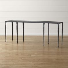 """Silviano 84"""" Console Table - Crate and Barrel"""