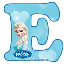 Es momento de compartir con las fans de Elsa y Anna un excelente alfabeto de Frozen con la figura de Elsa para descargar gratuitamente y preparar las mejores decoraciones y adornos de fiesta. Ademá… Frozen Banner, Frozen Cake, Frozen Party, Frozen Birthday, Elsa Frozen, Frozen Princess, Disney Frozen, Disney Princess, Alphabet Disney