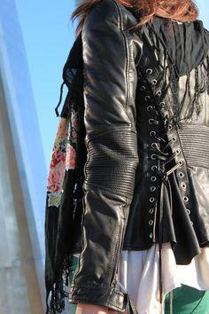 Dsquared leather jacket <3
