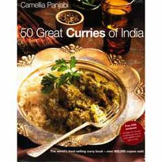 50 Great Curries of India - Camellia Panjabi. Buy 50 Great Curries of India online from Spices of India - The UK's leading Indian Grocer. Free delivery on 50 Great Curries of India - Camellia Panjabi (conditions apply). Indian Food Recipes, New Recipes, Ethnic Recipes, Asian Cookbooks, Hottest Curry, Healthy Man, Potato Curry, Indian Curry, Cooking Together