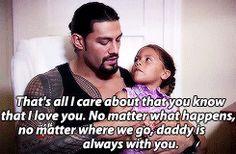 Joe and his daughter