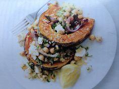 Donna Hay- Everyday Easy: Quinoa. Roasted pumpkin, feta and quinoa salad. Yumbo!!! Issue 62