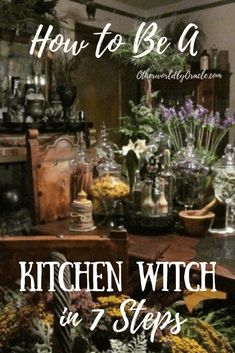 Looking to learn how to be a kitchen witch? The 7 essential steps include using herbs and spices, creating a kitchen altar, and appeasing household spirits.